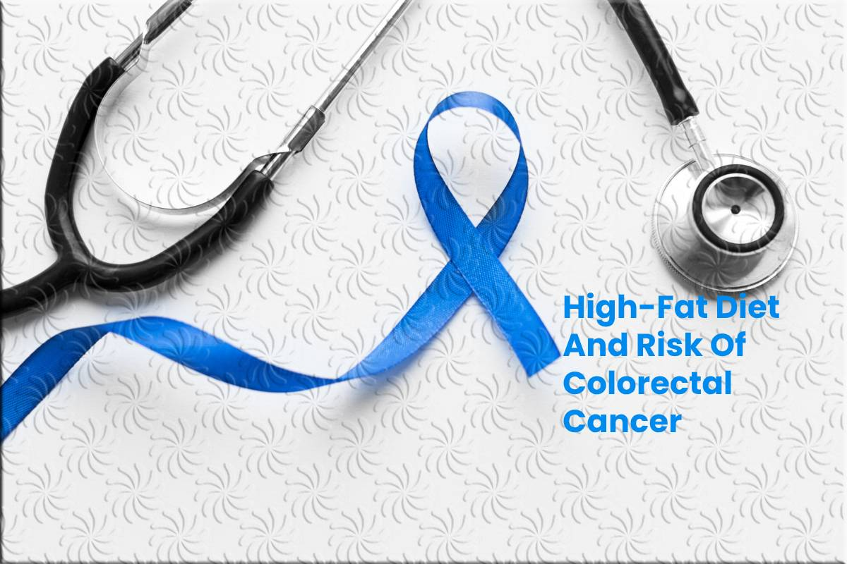 High Fat Diet And Risk Of Colorectal Cancer Being Natural Human